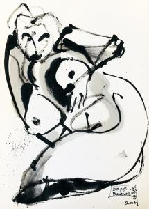 Untitled, Chinese ink on paper
